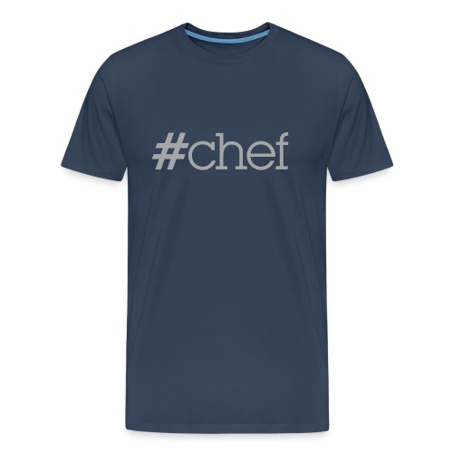 Hashtag chef - T-shirt Premium Homme
