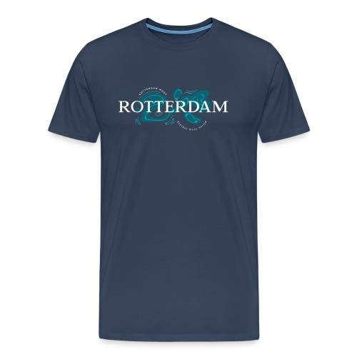 Rotterdam Mode - Sterker door strijd - Mannen Premium T-shirt