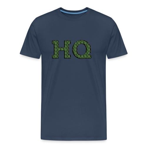 HQ LOGO 4 - Mannen Premium T-shirt