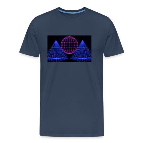 Party Lights - Mannen Premium T-shirt