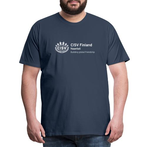 CISV Naantali - Miesten premium t-paita