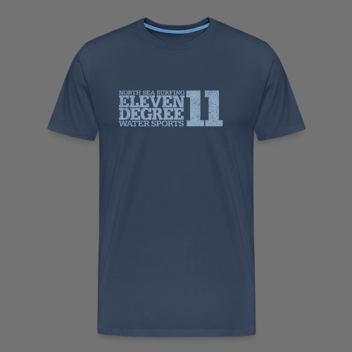eleven degree light blue (oldstyle) - Men's Premium T-Shirt