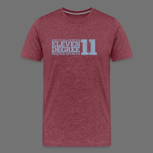eleven degree light blue (oldstyle) - Men's Premium T-Shirt
