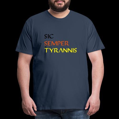 sicsemper - Männer Premium T-Shirt
