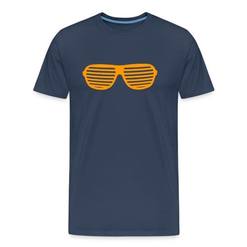 lunette Orange - T-shirt Premium Homme
