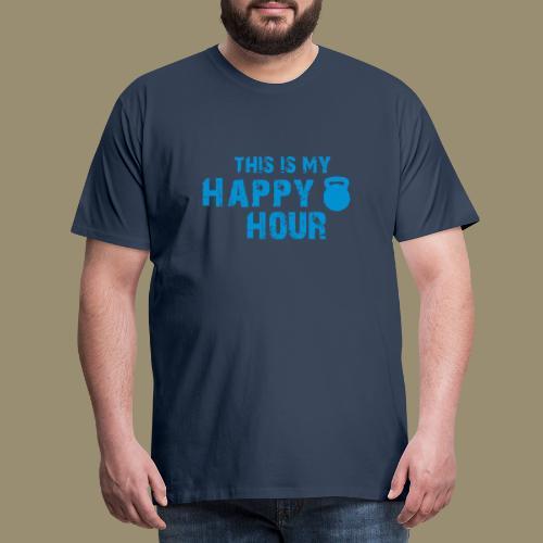 shirtsbydep happyhour - Mannen Premium T-shirt