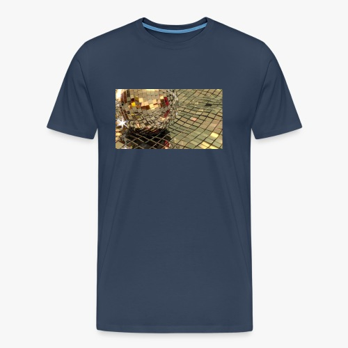 Discobal on mirror waves - Men's Premium T-Shirt