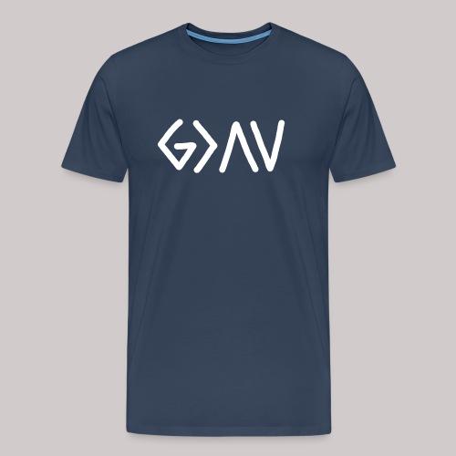Dios es GRANDE - Camiseta premium hombre