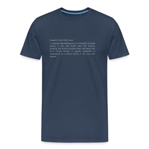 Men's v-neck t-shirt house bunny / rabbit lovers - Men's Premium T-Shirt