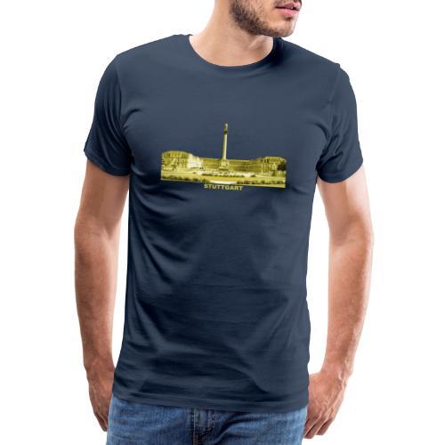 Stuttgart Schlossplatz Sight Baden-Württemberg - Männer Premium T-Shirt
