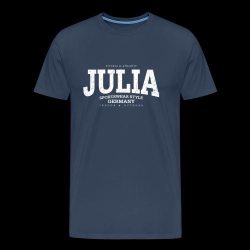 Julia (white oldstyle) - Männer Premium T-Shirt