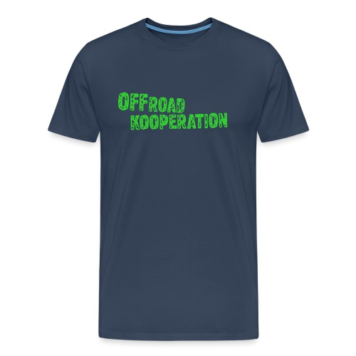 offroad kooperation green - Männer Premium T-Shirt