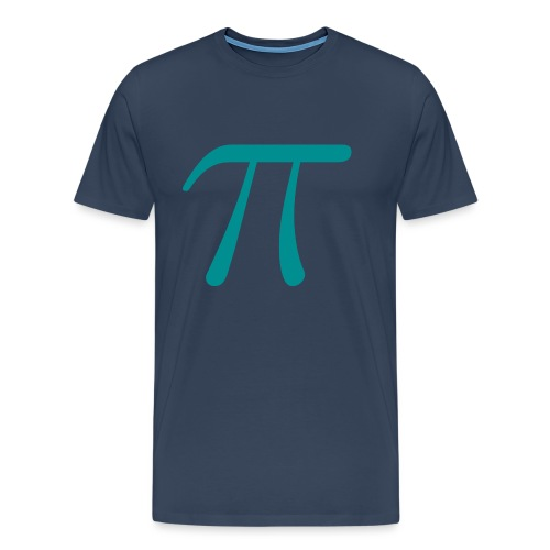Pi blue t-shirt - Men's Premium T-Shirt