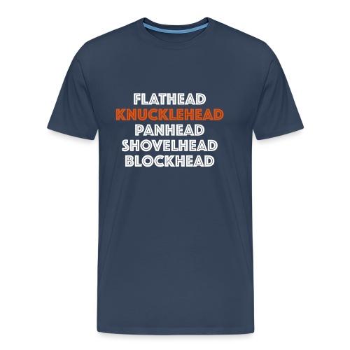 Knucklehead 2C - Mannen Premium T-shirt