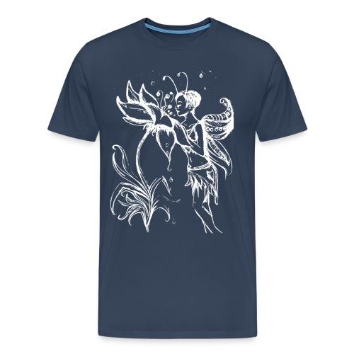 Blumenfee - Männer Premium T-Shirt