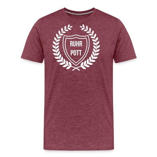 RUHRPOTT LOGO - Männer Premium T-Shirt