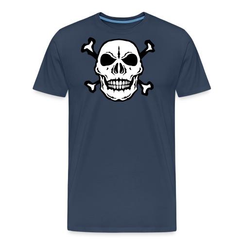 tete mort skull os dead 2706 - T-shirt Premium Homme