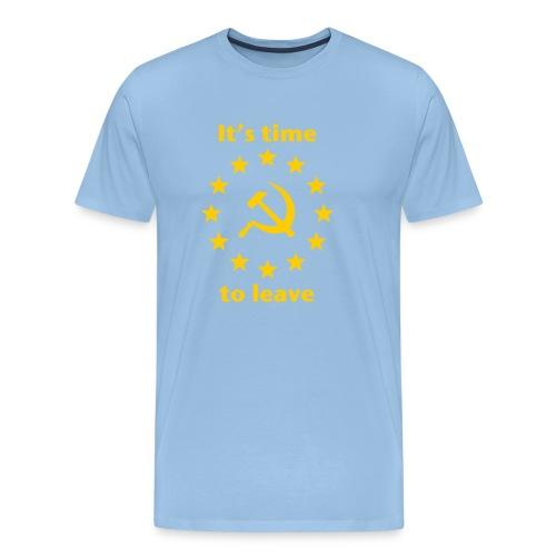 eu itshammertime 5 yellow - Men's Premium T-Shirt