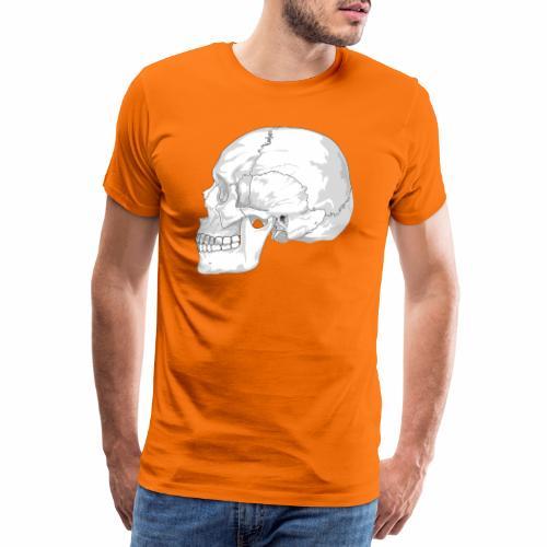 Schädel - Männer Premium T-Shirt