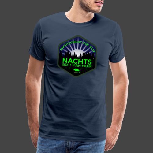 Jägershirt Nachtschicht für alle - Männer Premium T-Shirt