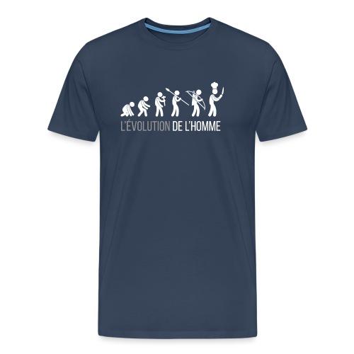 L'ÉVOLUTION DE L'HOMME - T-shirt Premium Homme