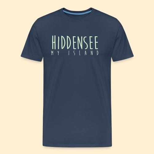 Hiddensee My Island - Männer Premium T-Shirt