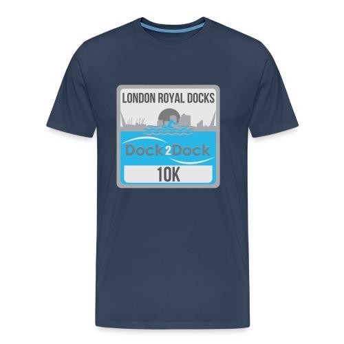 DOCK 2 DOCK CLASSIC BADGE - Men's Premium T-Shirt