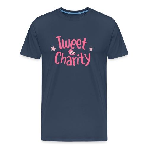Tweet Charity (Pink) - Maglietta Premium da uomo
