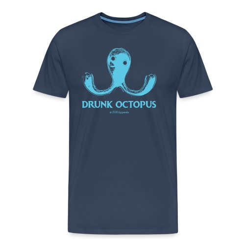 Drunk Octopus - Men's Premium T-Shirt