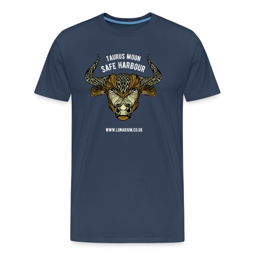 Taurus Moon Dark - Men's Premium T-Shirt