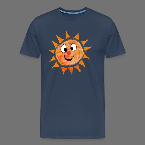 Aurinko - Miesten premium t-paita