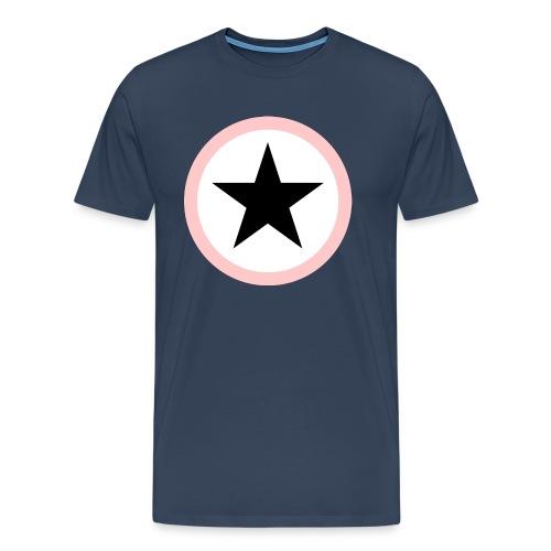 Baby Black Star rose Superstar - Männer Premium T-Shirt