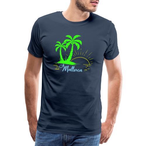 Die goldenen Sonnenuntergänge von Mallorca - Männer Premium T-Shirt