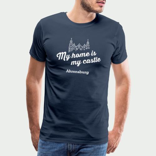 My home is my castle - Ahrensburg (dunkel) - Männer Premium T-Shirt