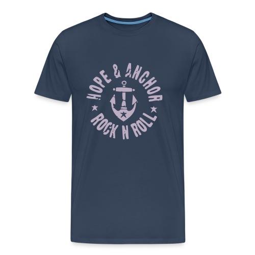 HOPE & ANCHOR-Rock´n´Roll - Männer Premium T-Shirt