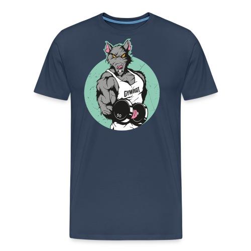 GYM RAT old Ed. - Männer Premium T-Shirt