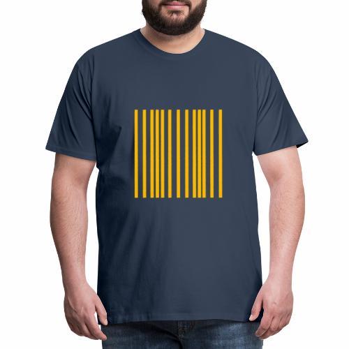 Ondas longitudinales - Camiseta premium hombre