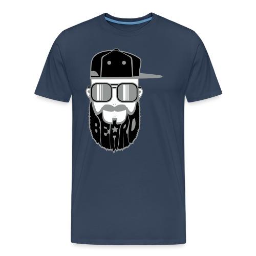 logo beard hiphop - T-shirt Premium Homme
