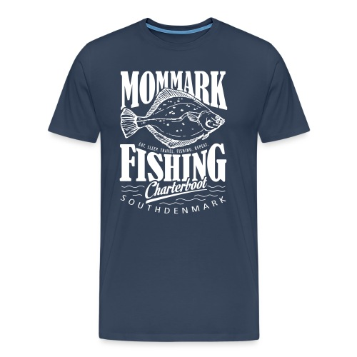 Mommark Fishing - Männer Premium T-Shirt