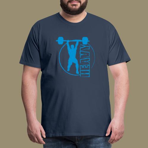 shirtsbydep heavy - Mannen Premium T-shirt