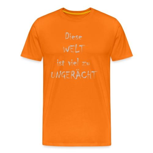 WORTKunstwort 21.3 - Männer Premium T-Shirt