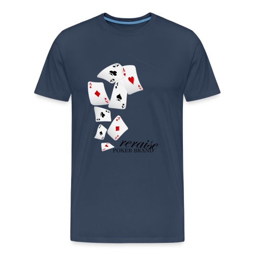 Flying Cards reraise - Männer Premium T-Shirt
