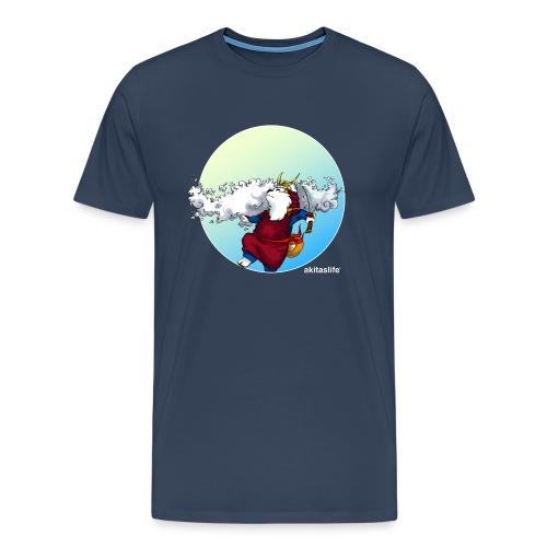 Akita Samurai Sky T-shirt - Men's Premium T-Shirt