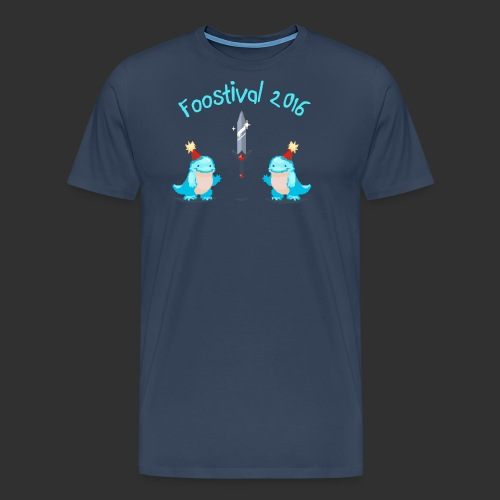 Foostival2016 Brust m - Männer Premium T-Shirt