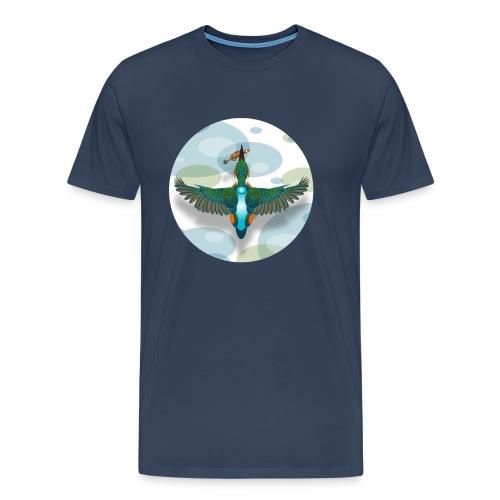 Kingfisher3-copy - Men's Premium T-Shirt