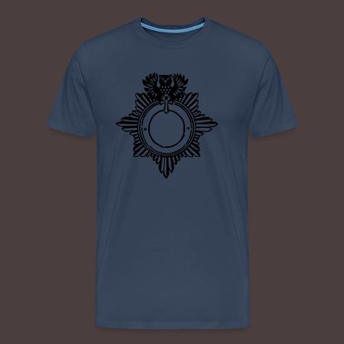 diesntmarkesiluette-clean - Männer Premium T-Shirt