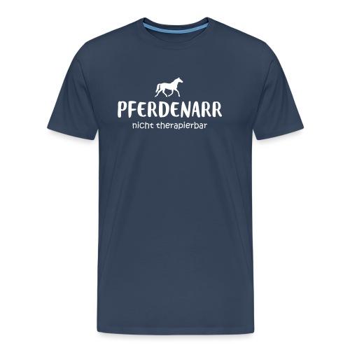 Vorschau: Pferdenarr - Männer Premium T-Shirt