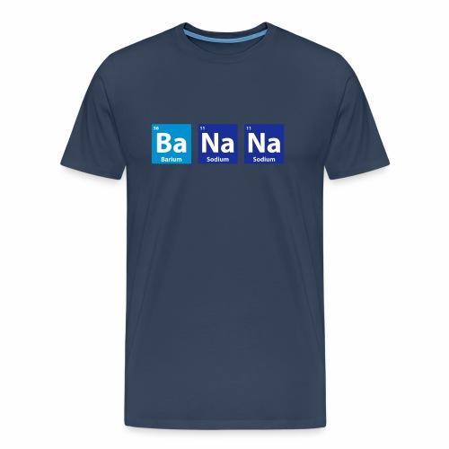Periodic Table: BaNaNa - Men's Premium T-Shirt