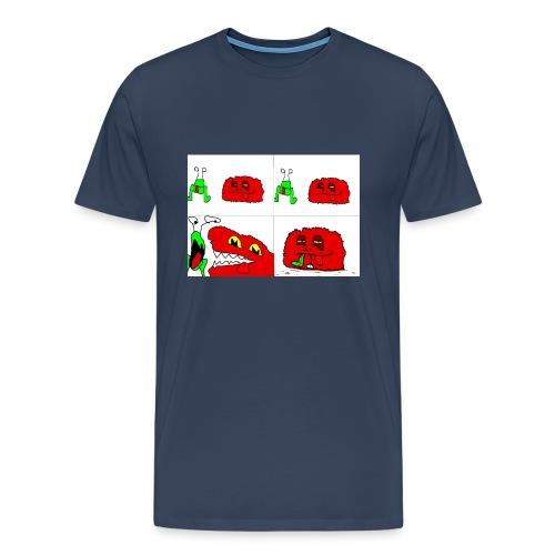 leo vs bimbo - Men's Premium T-Shirt