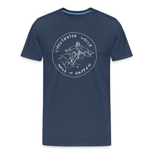 Lippstädter Welle - Basic Logo - Männer Premium T-Shirt